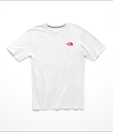 THE NORTH FACE Crew Neck Crew Neck Street Style Short Sleeves Crew Neck T-Shirts 15