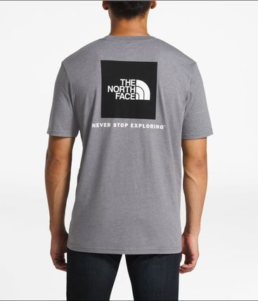 THE NORTH FACE Crew Neck Crew Neck Street Style Short Sleeves Crew Neck T-Shirts 20