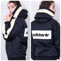 adidas SUPERSTAR Stripes Casual Style Unisex Street Style Jackets