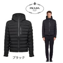 PRADA Short Plain Down Jackets