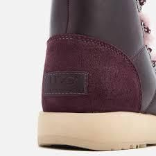 UGG Australia Ankle & Booties Round Toe Rubber Sole Casual Style Blended Fabrics 10