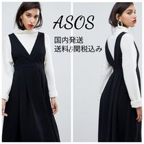 ASOS Casual Style Plain Medium Midi Skirts