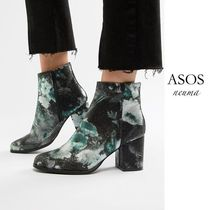 ASOS Flower Patterns Casual Style Blended Fabrics Street Style