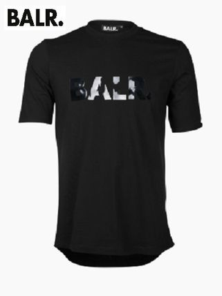 BALR More T-Shirts Boat Neck Cotton Short Sleeves T-Shirts