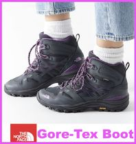 THE NORTH FACE Mountain Boots Round Toe Rubber Sole Casual Style