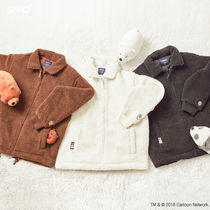 SPAO Casual Style Unisex Collaboration Jackets