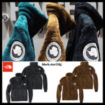 THE NORTH FACE Unisex Fur Street Style Plain Jackets