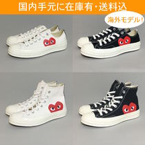 COMME des GARCONS Unisex Low-Top Sneakers