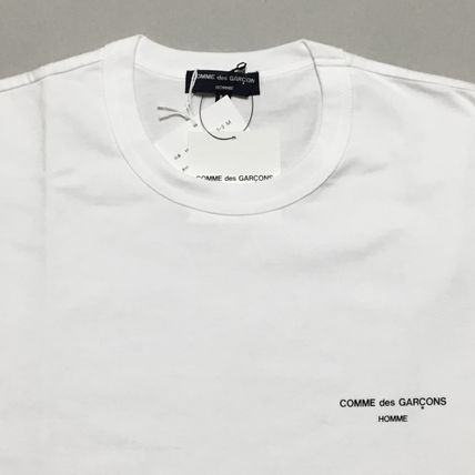 COMME des GARCONS More T-Shirts Crew Neck Cotton Short Sleeves T-Shirts 4