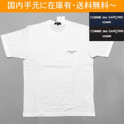 COMME des GARCONS More T-Shirts Crew Neck Cotton Short Sleeves T-Shirts