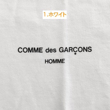 COMME des GARCONS More T-Shirts Crew Neck Cotton Short Sleeves T-Shirts 3