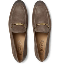 TOD'S Loafers Suede Loafers & Slip-ons