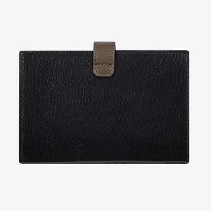 GIVENCHY Folding Wallets Unisex Leather Folding Wallets 4