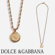 Dolce & Gabbana Unisex Street Style Plain Necklaces & Chokers