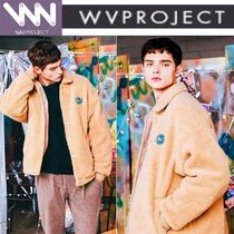 WV PROJECT Short Unisex Studded Coach Jackets Coach Jackets