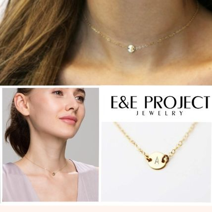 Casual Style Initial Necklaces & Pendants