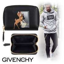 GIVENCHY Unisex Canvas Coin Cases