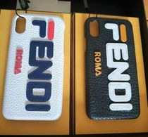 FENDI Collaboration Leather Smart Phone Cases