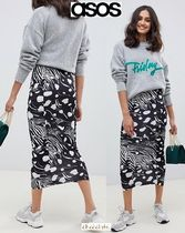 ASOS Pencil Skirts Casual Style Street Style