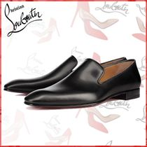 Christian Louboutin DANDELION Loafers Plain Leather Loafers & Slip-ons