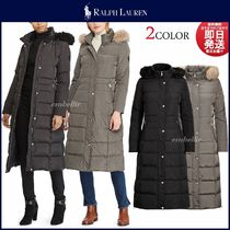 Ralph Lauren Plain Long Down Jackets