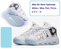 Nike AIR MORE UPTEMPO Plain Low-Top Sneakers