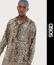 ASOS Leopard Patterns Street Style Long Sleeves Shirts