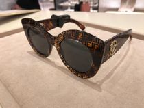 FENDI Cat Eye Glasses Sunglasses