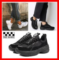 NO NAME Casual Style Street Style Low-Top Sneakers