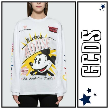 Crew Neck Collaboration Long Sleeves Long