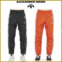 Alexander Wang Stripes Street Style Collaboration Bottoms