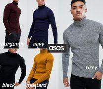 ASOS Long Sleeves Plain Bold Knits & Sweaters