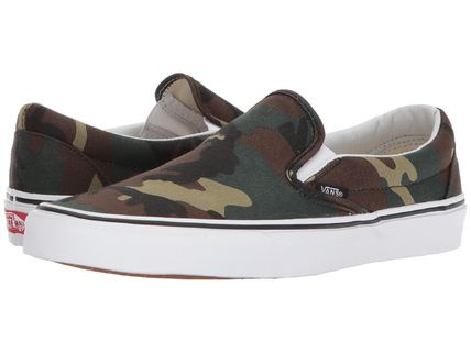 175bdb38da6 VANS SLIP ON 2018-19AW Camouflage Unisex Loafers   Slip-ons by ...