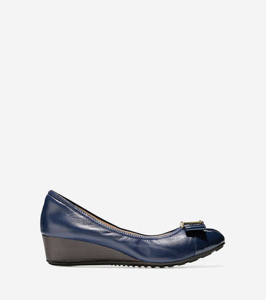 Cole Haan Blended Fabrics Plain Leather Formal Style
