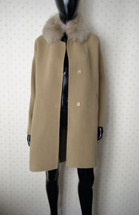 HERNO More Coats Wool Plain Long Coats 11