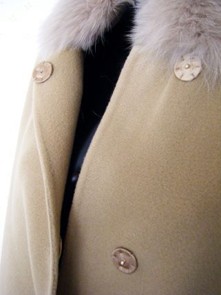 HERNO More Coats Wool Plain Long Coats 19