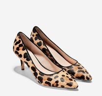 Cole Haan Leopard Patterns Spawn Skin Pumps & Mules