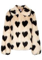 Shrimps Heart Faux Fur Medium Cashmere & Fur Coats