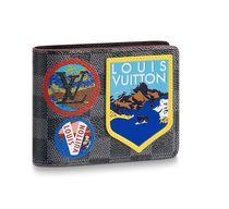 Louis Vuitton Leather Special Edition Folding Wallets