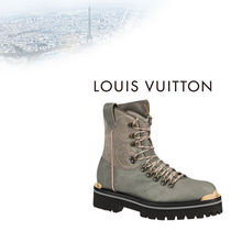 Louis Vuitton Monogram Mountain Boots Leather Outdoor Boots
