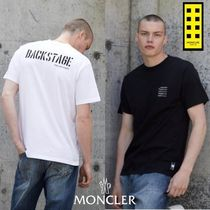 MONCLER MONCLER GENIUS Unisex Street Style Collaboration Cotton Short Sleeves