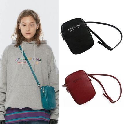 Casual Style Unisex Street Style 2WAY Plain Shoulder Bags