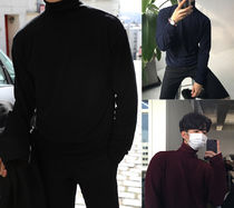 ASCLO Long Sleeves Plain Knits & Sweaters