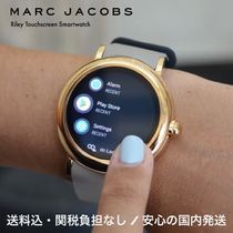 MARC JACOBS Round Quartz Watches Elegant Style Digital Watches