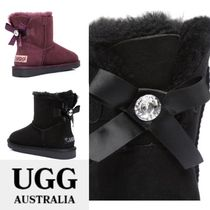 UGG Australia Round Toe Casual Style Suede Flat Boots