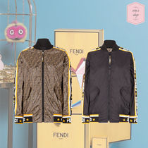 FENDI Monogram Street Style Medium MA-1 Bomber Jackets