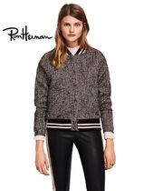 Ron Herman Short Casual Style Wool Street Style Plain Handmade