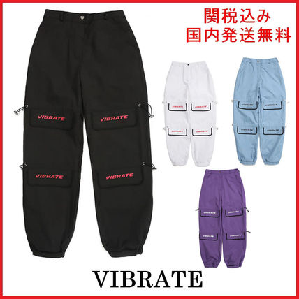 Casual Style Unisex Pants