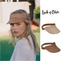 lack of color Unisex Blended Fabrics Hats & Hair Accessories