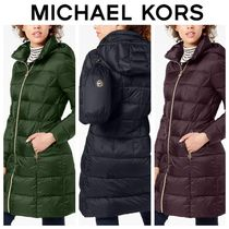 Michael Kors Plain Down Jackets